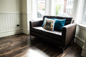Deluxe One Bedroom Apartment Seating Area