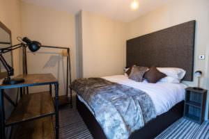 Standard One Bedroom Apartment bedroom